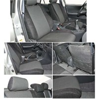Z tech Nissan Quashai Siyah renk Araca özel Oto Koltuk Kılıfı
