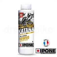 Ipone Full Power Katana 10W50 4T %100 Senteteik Yağ 1L