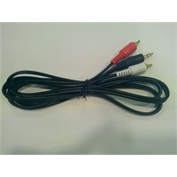 Soundmagus Sm-Auxrca 1.5 Metre 3.5mm-Rca Aux Kablosu