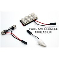 ModaCar 8 Beyaz Ledli MULTI SOFİT / T10 Park Ampül 81c006