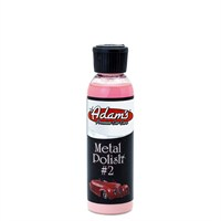 Adam's Polishes Metal Polish #2 Metal Parlatıcı 120 ml