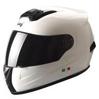 Sway 806 Full Face ECER Sertifikalı Beyaz Kask