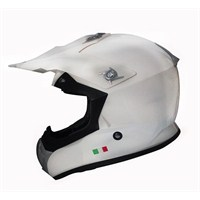 Sway 603 Europe Design Camsız Kross Beyaz Kask (ECER sertifikalı)