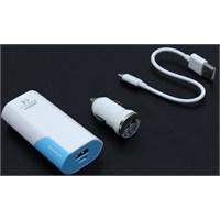Energy USB Çakmak Soketi + 5200 mAh 1 amp PowerBank 103477