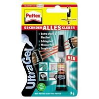Pattex Ultra Gel Elastik Hızlı Yapıştırıcı 3 gr. 040212
