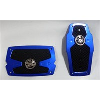 Monza XB-286 Otomatik Araca Özel Mavi Spor Pedal Seti