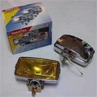 Maxtel 164x88mm Dikdörtgen Sarı Lens Sis Farı Tk. JF105CY