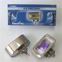 Maxtel 146x77mm Dikdörtgen Rainbow Lens Sis Farı Tk. JF837CL
