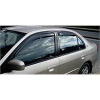 Z tech Honda Civic 2001-2005 Arası Ön/Arka Cam Rüzgarlığı Seti