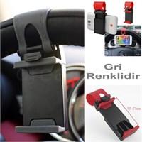 Dreamcar Smart Gri Direksiyon İçi Telefon Tutucu 0132103