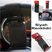 Dreamcar Smart Siyah Direksiyon İçi Telefon Tutucu 0132102