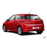 S-Dizayn Hyundai i20 Krom Bagaj Alt Çıtası 2014 ve Üzeri