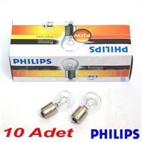 Philips 93 Ampul 12V P21W 10'lu Paket 12498CP