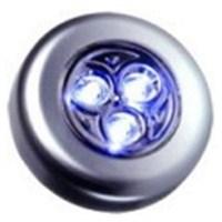 Dreamcar Dokunmatik 3 Led Lamba Yapışkanlı Gümüş 3500601