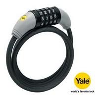 Yale Motosiklet ve Bisiklet Kilidi 4 Şifreli 8 mm. Çelik 90340
