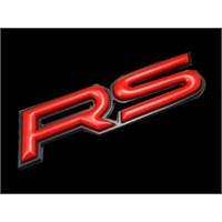 ModaCar RS 3 Boyutlu Logo KIRMIZI 85a55514e