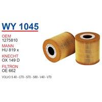 Wunder VOLVO S80 Yağ Filtresi OEM NO:1278810