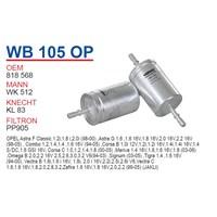 Wunder OPEL Vectra Tırnaklı Tip Benzin Filtresi OEM NO: 818568