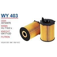 Wunder VOLVO C30 1.6 D Yağ Filtresi OEM NO:30735878