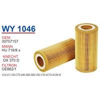 Wunder VOLVO V50 T5 Yağ Filtresi OEM NO:30757157