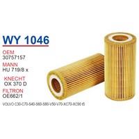 Wunder VOLVO XC90 T5 Yağ Filtresi OEM NO:30757157