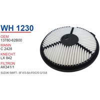 Wunder SUZUKI Swift - SF 413-SA 413/G10 G/13-B Hava Filtresi OEM NO:13780-62B00