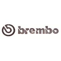 Brembo Aluminyum Dizayn Sticker 9x1,5 cm