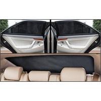 Hyundai Accent Era 2006 Sonrası Lüks Takmatik Perde (3 Parça)