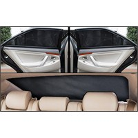 Volswagen Jetta 2011 Sonrası Lüks Takmatik Perde (3 Parça)