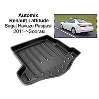 Automix Renault Lattitude Bagaj Havuzu Paspası 2011->Sonrası