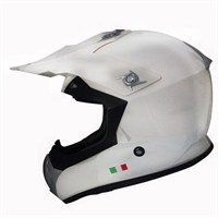 Sway 603 Ecer Sertifikalı Europe Design Camsız Kross Beyaz Kask - 5 Beden
