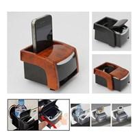 Dreamcar Çok Fonksiyonlu Bardaklık+Küllük+Telefon Tutucu Birarada Siyah 4607001