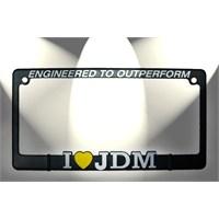 JDM Logo Kare Plakalık 14353