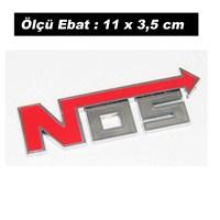 AutoCet KIRMIZI NOS Arma Sticker (11740)