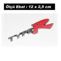 AutoCet KIRMIZI TYPER Arma Sticker (11744)