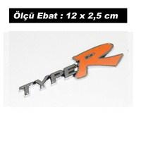 AutoCet TURUNCU TYPER Arma Sticker (11746)