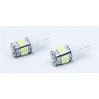 Modacar 9 Beyaz Samsung Ledli 9 Watt T10 Tip Park Ampülü 103926