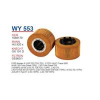 Wunder Ford Mondeo 3 Kasa 2.0 Tdcı Yağ Filtresi Oem No: 1088179