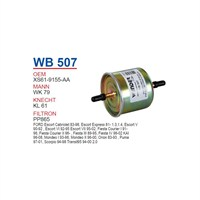 Wunder Ford Fiesta Benzin Filtresi Oem No: Xs61 - 9155 - Aa