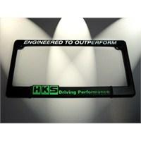 Hks Logo Kare Plakalık Yeşil 14432