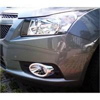 Chevrolet Cruze Krom Sis Farı Çerçevesi Takımı