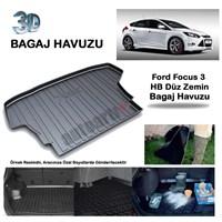 Autoarti Ford Focus 3 Hb Düz Zemin Bagaj Havuzu-9007570