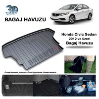 Autoarti Honda Civic Sedan Bagaj Havuzu 2012/Üzeri-9007585
