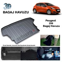 Autoarti Peugeot 208 Bagaj Havuzu-9007651