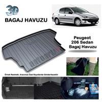 Autoarti Peugeot 206 Sedan Bagaj Havuzu-9007654
