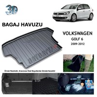 Autoarti Volkswagen Golf 6 Bagaj Havuzu-9007733
