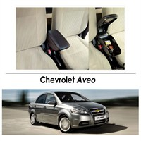 Bylizard Chevrolet Aveo Kol Dayama Kolçak Siyah - Araca Özel