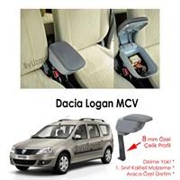 Bylizard Dacia Logan Mcv Kol Dayama Kolçak Gri