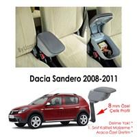 Bylizard Dacia Sandero Stepway Kol Dayama Kolçak Gri