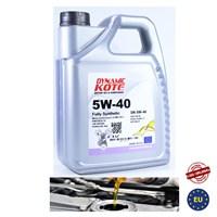 Dynamic Kote 5W-40 Motor Yağı 4 Litre (Benzin,Dizel)